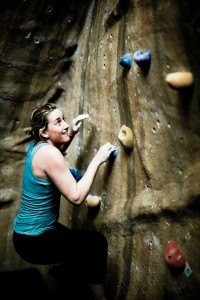 Bouldering activity