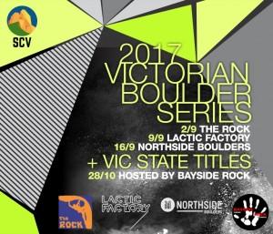 2017 Vic Boulder Series