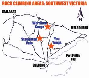 Outdoor climbing locations