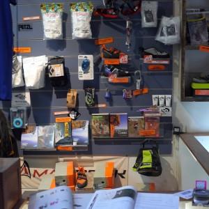 climbing gear shop